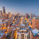 Chicago, Illinois, USA Skyline - PhotoDune Item for Sale