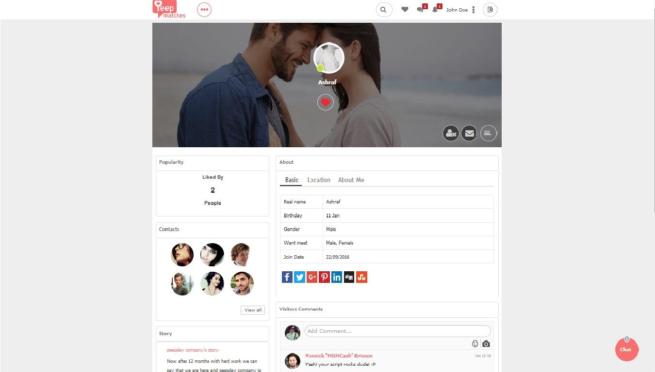social hookup sites