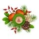 Christmas Festive Decoration - GraphicRiver Item for Sale