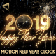 Glamorous New Year Countdown Clock 2019 V1 - VideoHive Item for Sale