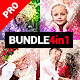 Presentum - 4in1 Photoshop Actions Bundle
