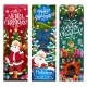 Santa, Elf and Gifts. Christmas Sale Vector Offer - GraphicRiver Item for Sale
