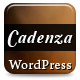 Cadenza - Modern WordPress Theme - ThemeForest Item for Sale
