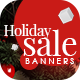Holiday Sale Web Banner Set - GraphicRiver Item for Sale