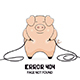 Pig and Error 404 - GraphicRiver Item for Sale