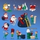 Vector Illustration Set of Christmas and New Year - GraphicRiver Item for Sale