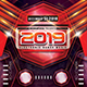 Super EDM Party 2019 Photoshop Flyer Template - GraphicRiver Item for Sale