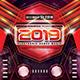 Super EDM Party 2019 Photoshop Flyer Template - GraphicRiver Item for Sale