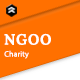 Free Download NGOO - Charity, Non-profit, and Fundraising PSD Template Nulled