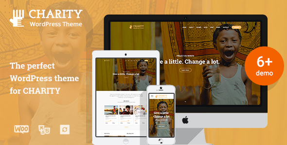 Charity WP | Nonprofit Charity WordPress Theme - Charity Nonprofit