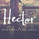 Free Download Hector Handwritten Font Nulled