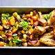 Grilled vegetables with chicken wings - PhotoDune Item for Sale