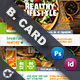 Healthy Food Business Card Templates - GraphicRiver Item for Sale