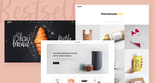 Our Bestselling Themes
