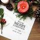 Christmas holiday greeting design mockup - PhotoDune Item for Sale