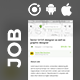 Free Download Job classifieds Android App + iOS App Template | Jobber (HTML+CSS files IONIC 3) Nulled