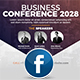 Free Download Event | Conference Facebook Cover Nulled