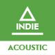 Uplifting Energetic Acoustic Indie Folk