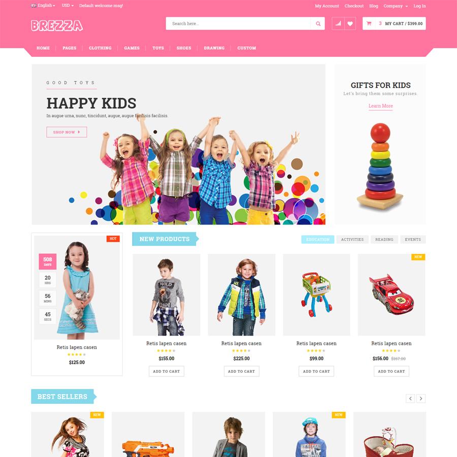 Brezza - Fruit Store Multipurpose HTML Template
