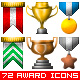 Medals and Trophies Icon Set! - GraphicRiver Item for Sale