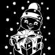 Christmas Snowman Sticker - GraphicRiver Item for Sale