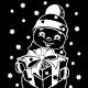 Christmas Snowman Sticker - GraphicRiver Item for Sale