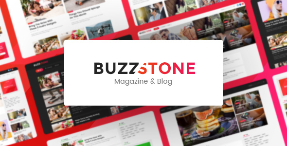 Buzz Stone | Magazine & Viral Blog WordPress Theme - Blog / Magazine WordPress