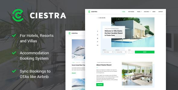 Ciestra - Resort WordPress Theme - Real Estate WordPress