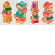 Book Stacks on Transparent Background - GraphicRiver Item for Sale