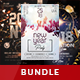 Free Download New Year Flyer Bundle Nulled