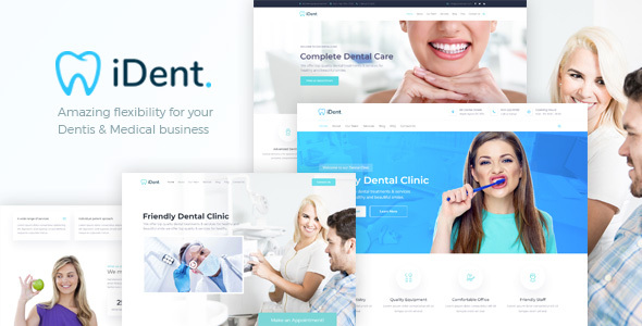 iDent - Dentist & Medical WordPress Theme