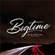 Bigtime-Signature Font - GraphicRiver Item for Sale
