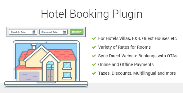 Hotel Booking - Property Rental WordPress Plugin - CodeCanyon Item for Sale