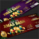 Xmas Bash Party Event Ticket - GraphicRiver Item for Sale