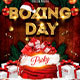 Xmas Boxing Day Template Poster Box Flyer - GraphicRiver Item for Sale