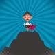 Businesswoman Success Illustration - GraphicRiver Item for Sale