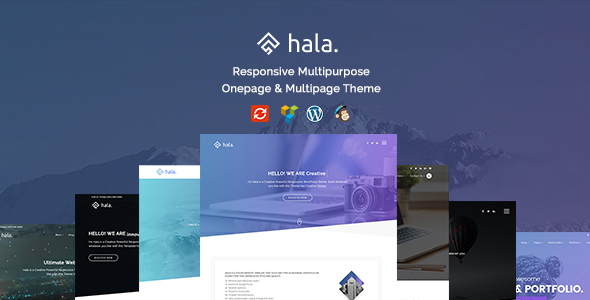 Hala – Creative Multi-Purpose WordPress Theme