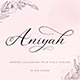 Aniyah Script - GraphicRiver Item for Sale