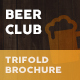 Beer Club / Pub Trifold Menu - GraphicRiver Item for Sale