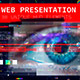 Web Presentation/ HUD Modern Slideshow/ 3D Sci-Fi Glitch Intro/ Digital Parallax/ Hightech Interface - VideoHive Item for Sale