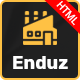 Enduz - Factory & Industrial Business HTML Template - ThemeForest Item for Sale