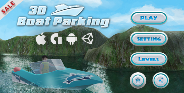 Boat Parking 3D Game Unity - CodeCanyon Item for Sale