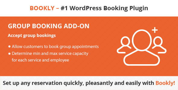 Bookly Group Booking (Add-on) - CodeCanyon Item for Sale