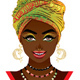African Woman in Turban - GraphicRiver Item for Sale