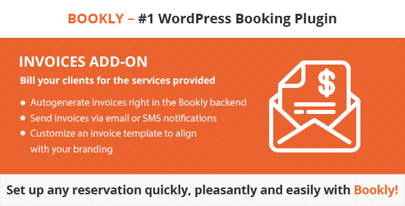 Bookly Invoices (Add-on) - CodeCanyon Item for Sale