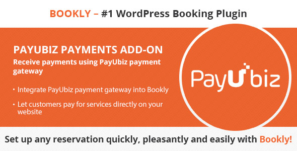 Bookly PayUbiz (Add-on) - CodeCanyon Item for Sale