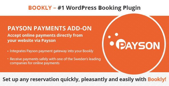 Bookly Payson (Add-on) - CodeCanyon Item for Sale