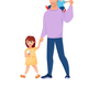 Walking Family - GraphicRiver Item for Sale