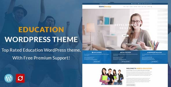 Education WordPress Theme - Education WP - Education WordPress