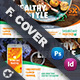 Healthy Food Cover Templates - GraphicRiver Item for Sale
